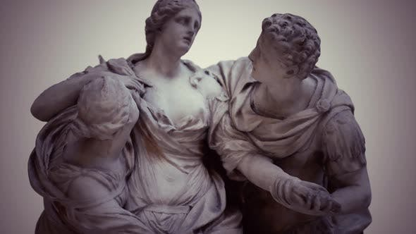 Thumbnail for Arria and Poetus Antique Statue