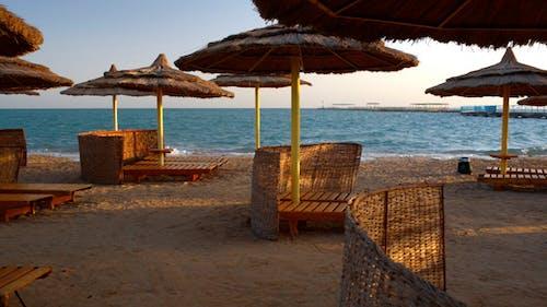 Ort für Erholung am Strand