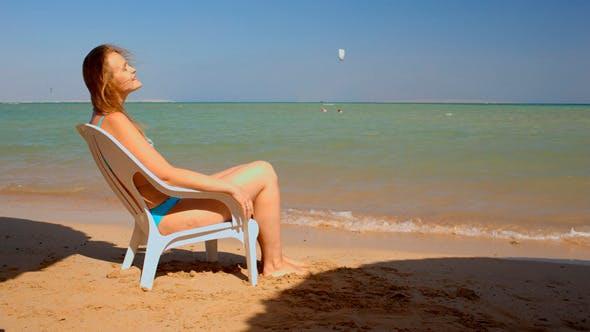 Thumbnail for Sunbathing on Beach