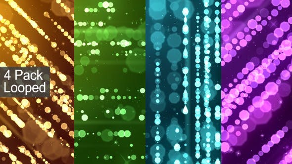 Thumbnail for Particle Rain Background (4 Pack)