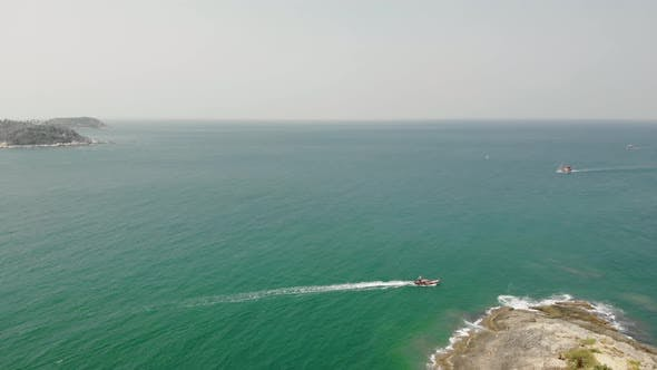 Thumbnail for Flight Over The Promtep Cape Of The Phuket Island In The Andaman Sea