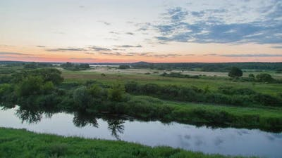 Nature Sunrise Background
