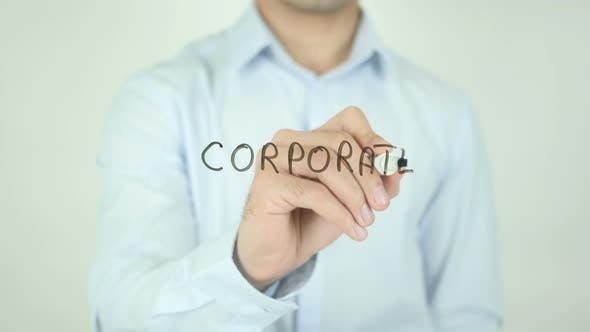 Corporate, Writing On Screen