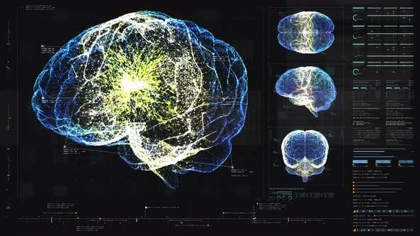 Thumbnail for Biomedical Neuron Pathology And Diagnostic Scan HUD