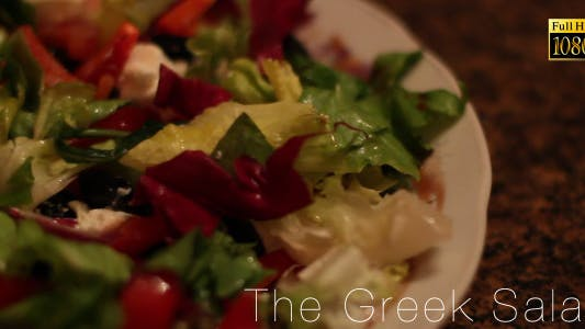 Cover Image for The Greek Salad