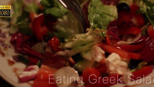 Cover Image for Eating Greek Salad