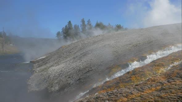 Thumbnail for Hot water at Yellowstone National Park
