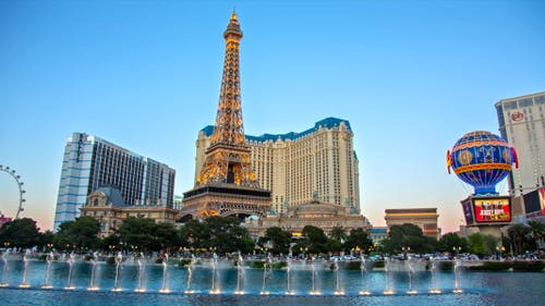 Fountains & Vegas