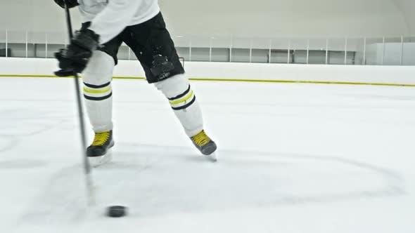 Thumbnail for Hockey Player Dribbling Puck