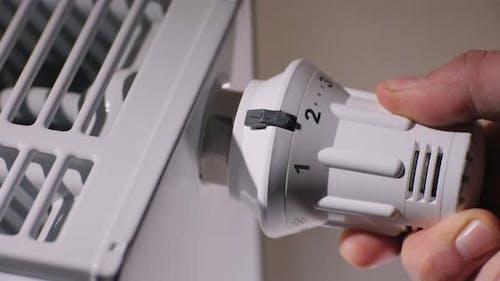 Fine Adjustment of the Room Temperature, Thermostat Regulation