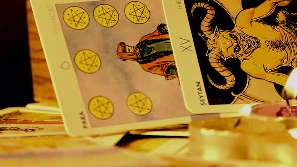 Thumbnail for Magical Witchcraft Fortune Teller Mystical Tarot Cards 11
