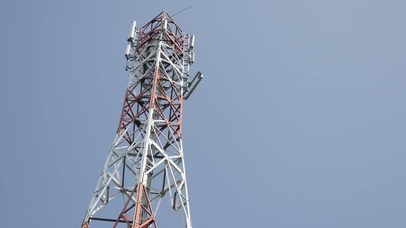 Thumbnail for Antenne Antennensystem Telekommunikationsrepeater Hintergrund 4K 3840X2160 UHD Kippmaterial - Outdo