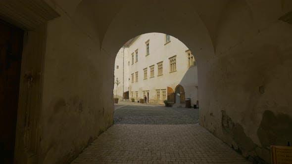 An arched passageway