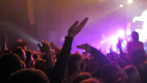 Musikfestival Applause Party Konzert Licht