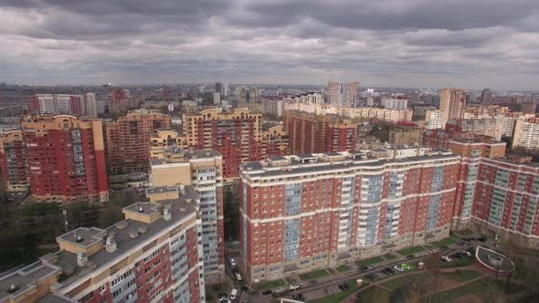 Thumbnail for Aerial View of Residential Area in Moscow