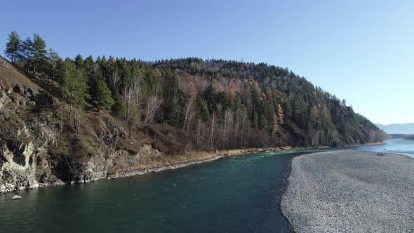 Thumbnail for Beautiful Siberian Landscape Abakan River in Khakassia