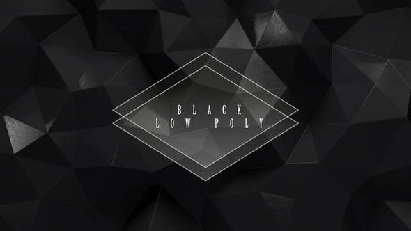 Thumbnail for Black Low Poly