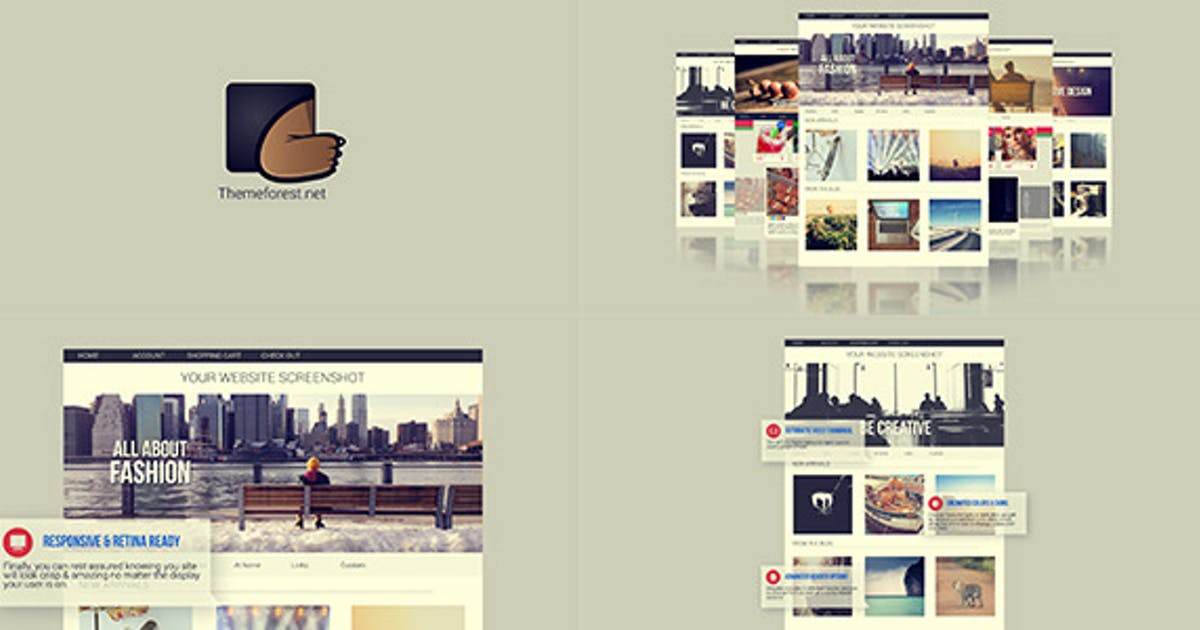 Download Website presentation 2 by 3uma