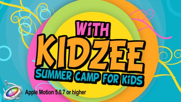 Thumbnail for Kidzee - Summer Camp for Kids - Apple Motion