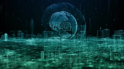 Smart City And Global 5g Connection 935 4K