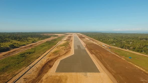 Cover Image for Construction Airport Terminal. Philippines Panglao