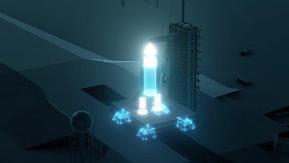 Rocket Launch Area Hd