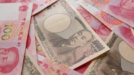 Thumbnail for Chinese RMB and Japanese Yen banknote