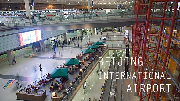 Thumbnail for Beijing Airport Crowd