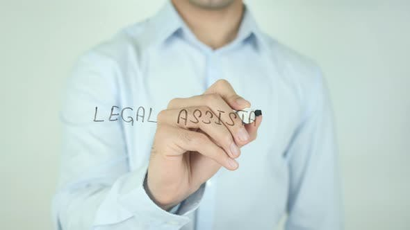 Thumbnail for Legal Assistance, Writing On Screen