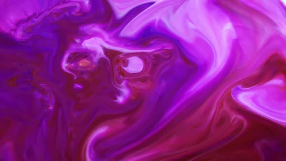 Thumbnail for Violet And Red Colour Paint Blasting Chemical Reaction