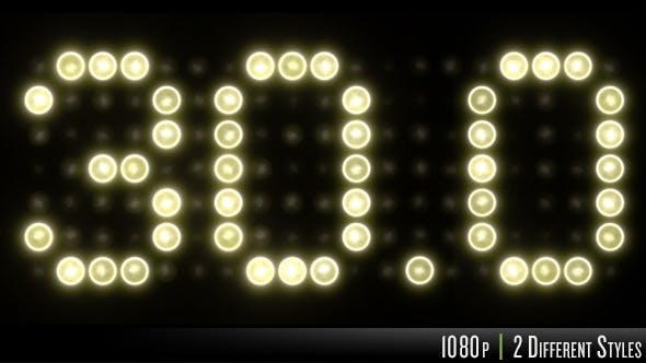 Cover Image for 30 Second Countdown on Sports Clock Scoreboard
