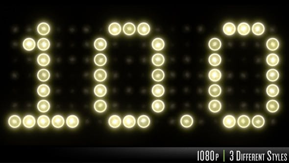 Thumbnail for 10 Second Light Scoreboard Countdown