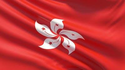 The Flag of Hong Kong