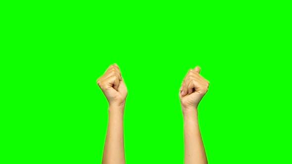 Thumbnail for Händeballungen, Fäuste auflösen, Bedrohlicher Finger