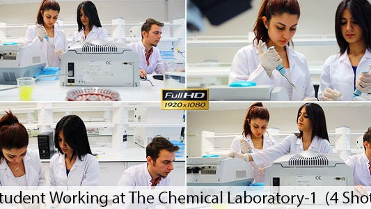 Thumbnail for Students Working in Lab 1