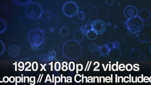 Rain Drops Backdrop - Series of 2 + Loop + Alpha