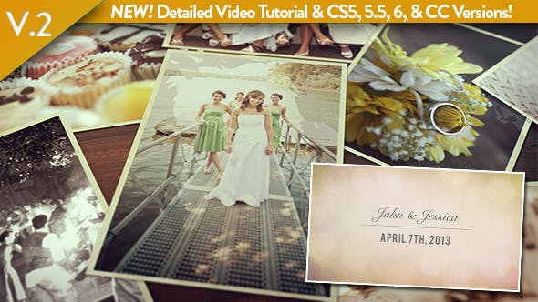 Thumbnail for Wedding Photos Slideshow