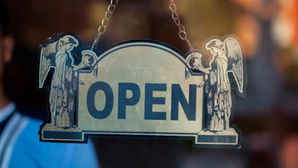 Thumbnail for Turning Over Open And Closed Sign