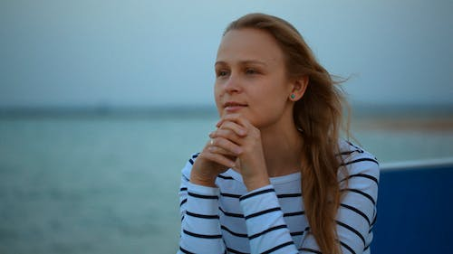 Woman With Wistful Look