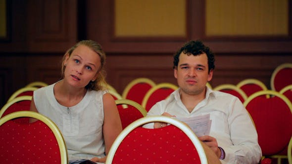 Thumbnail for Businesspeople in  Conference Hall