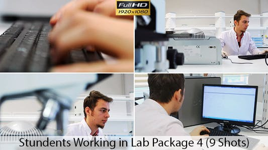 Thumbnail for Students Working in Lab 4