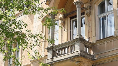 Old Architecture Balcony