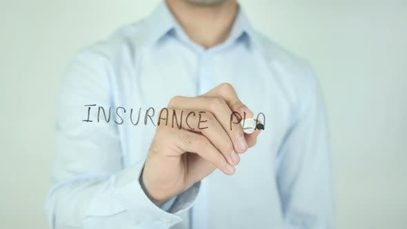 Thumbnail for Insurance Plans, Writing On Screen