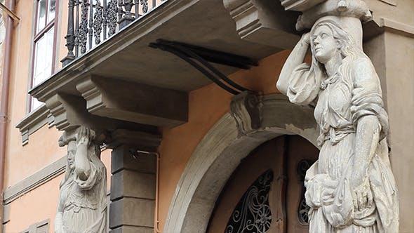 Thumbnail for Caryatids Female Columns
