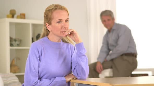 Thumbnail for Mature woman feeling doubt