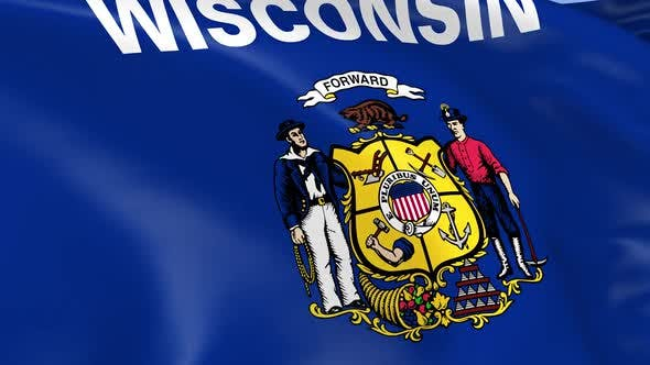 Thumbnail for Wisconsin State Flag