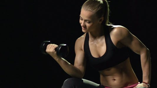 Thumbnail for Working out with Dumbbells