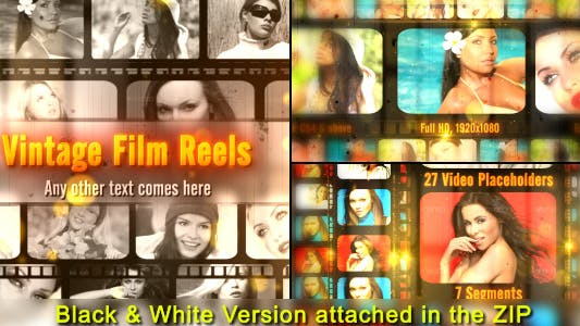 Thumbnail for Vintage Film Reels