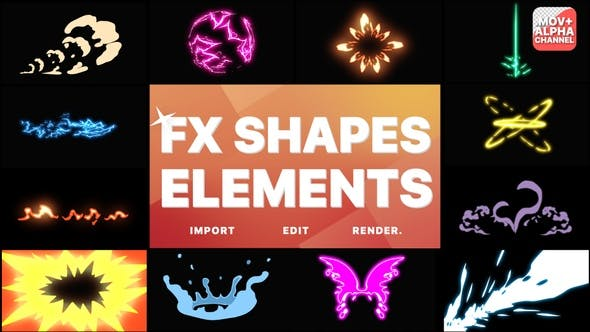 Elements Pack 10 | Motion Graphics