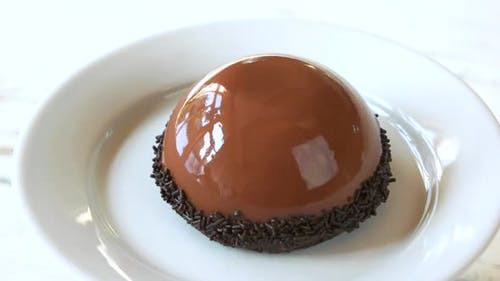 Glazed Dessert with Delicate Flavor